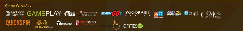 EMPIRE Cacino(エンパイア・カジノ):ゲーム制作会社